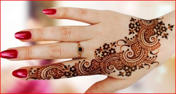 stylish mehndi design for eid