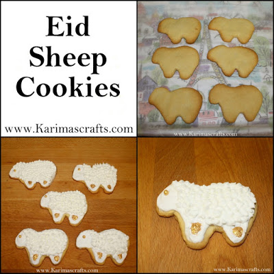 eid sheep cookie ideas and creative crafts
