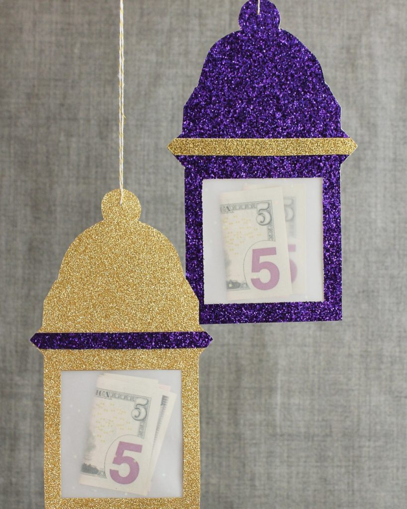 eid al adha creative lanterns money holder ideas