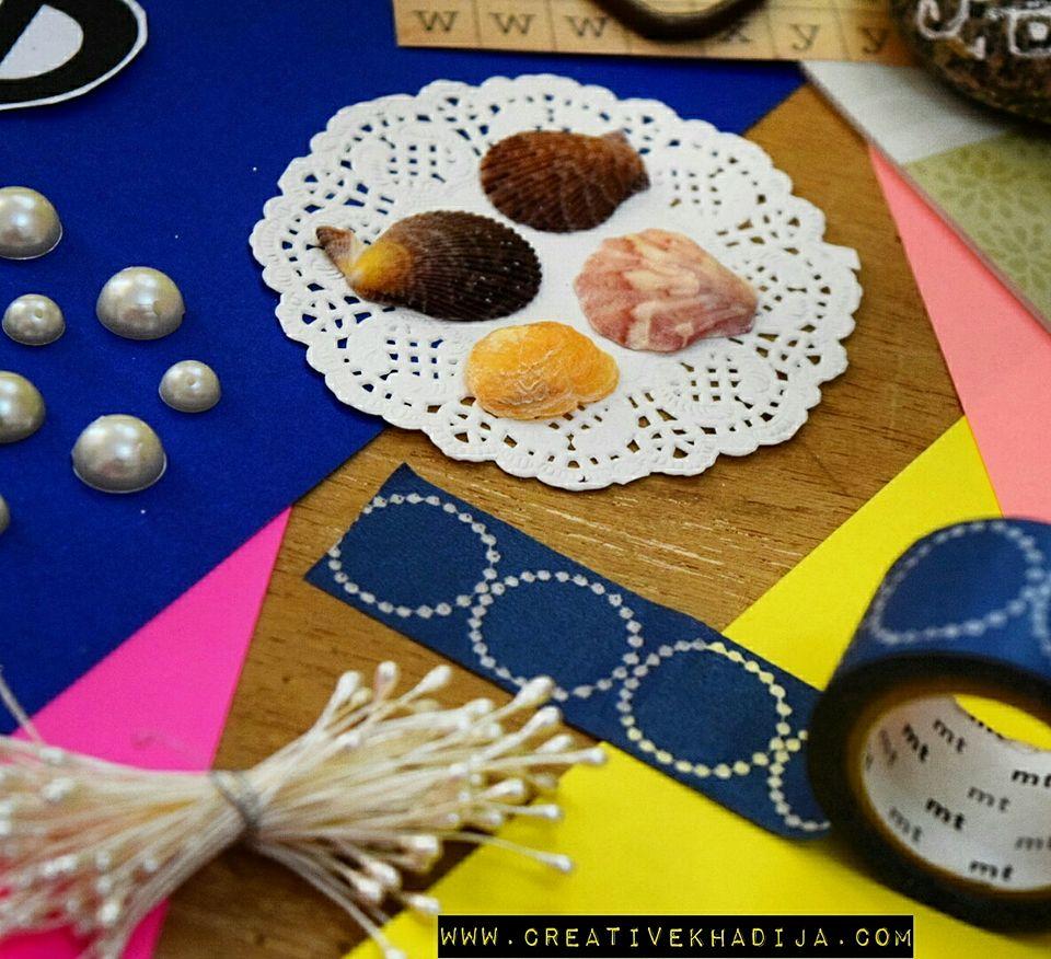 creative-khadija-craft-studio-work-in-progress-diy-seashells-crafts