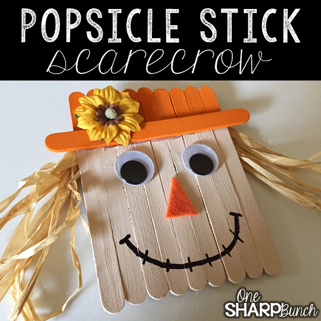 fall and halloween ideas for kids scare crow