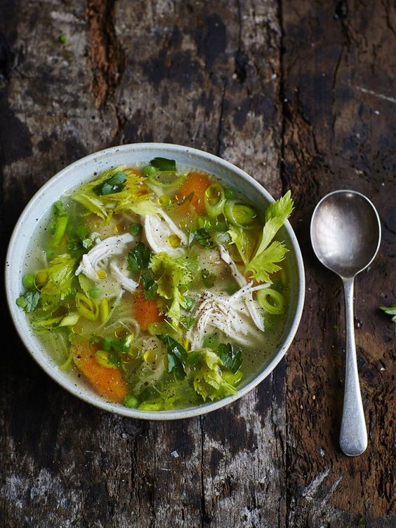 chicken and vegetable soup recipes winter