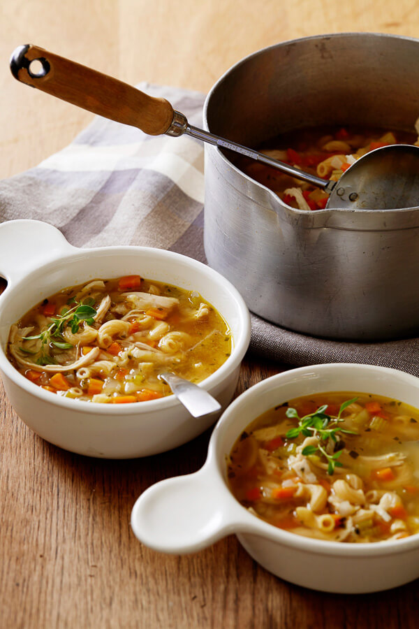 chicken and vegetable soup recipes