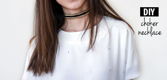 DIY choker necklace ideas