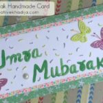 umrah mubarak handmade cards making