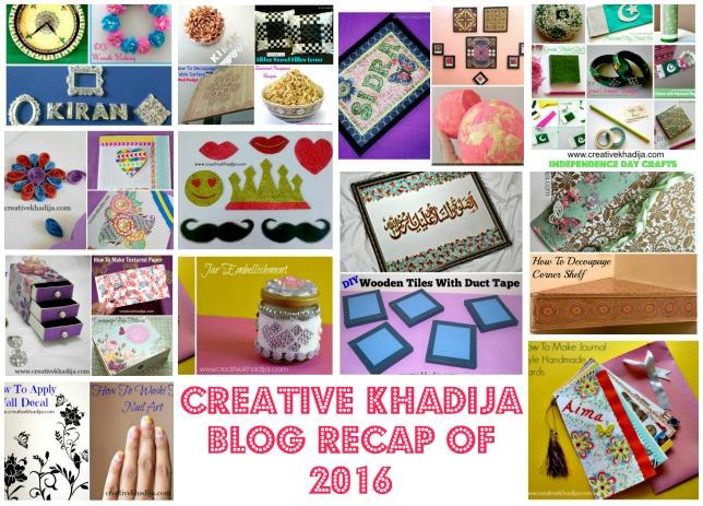 creative khadija blog recap 2016