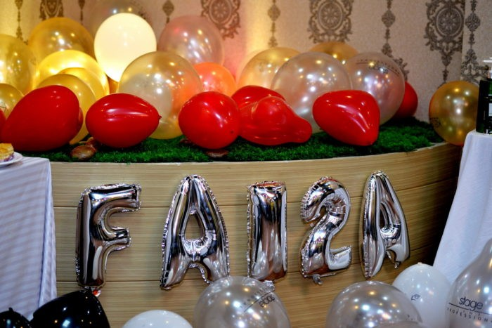 faiza's saloon beauty bloggers meetup islamabad