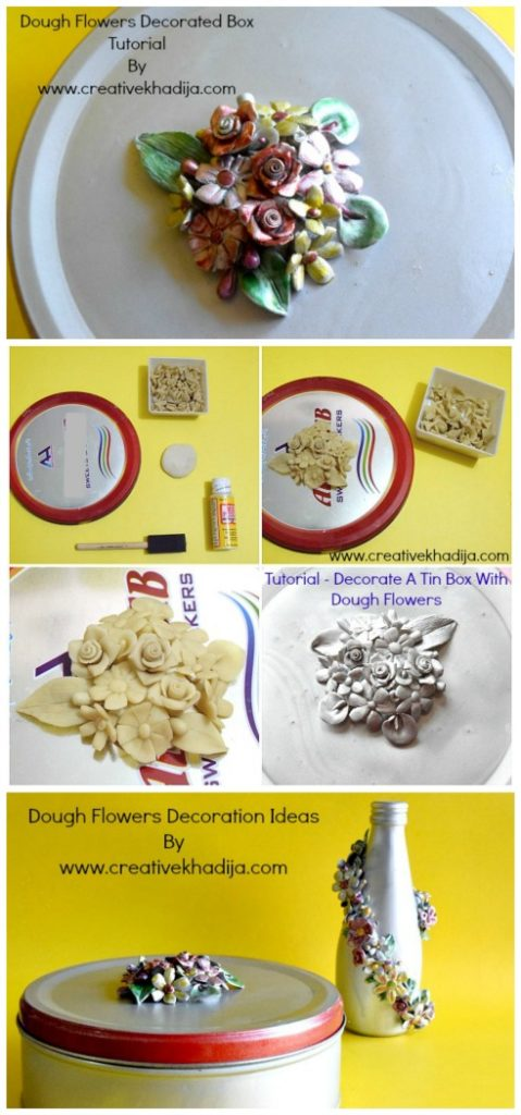 dough flowers decoration ideas and tutorials