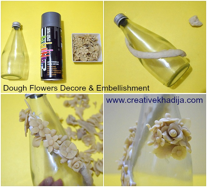 how-to-decorate-embellish-with-dough-flowers-dough-crafts-creations-ideas