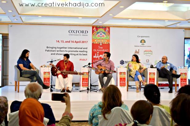Islamabad Literature Festival 2017 Press Release by Creative Khadija Pakistani Art Blogger
