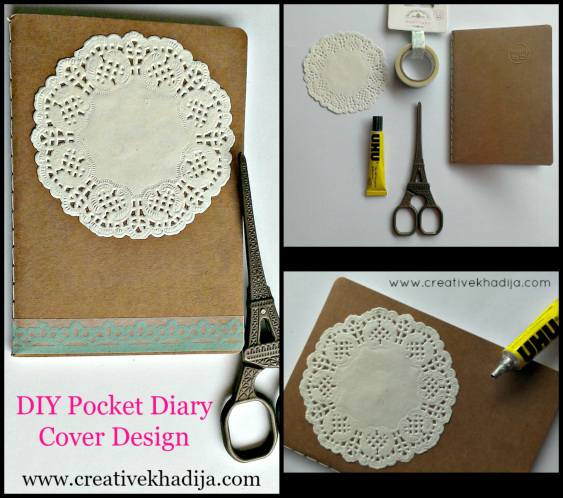Design-pocket-diary-cover-washitape-paper-doilies-tutorial-creative-khadija-art-blog