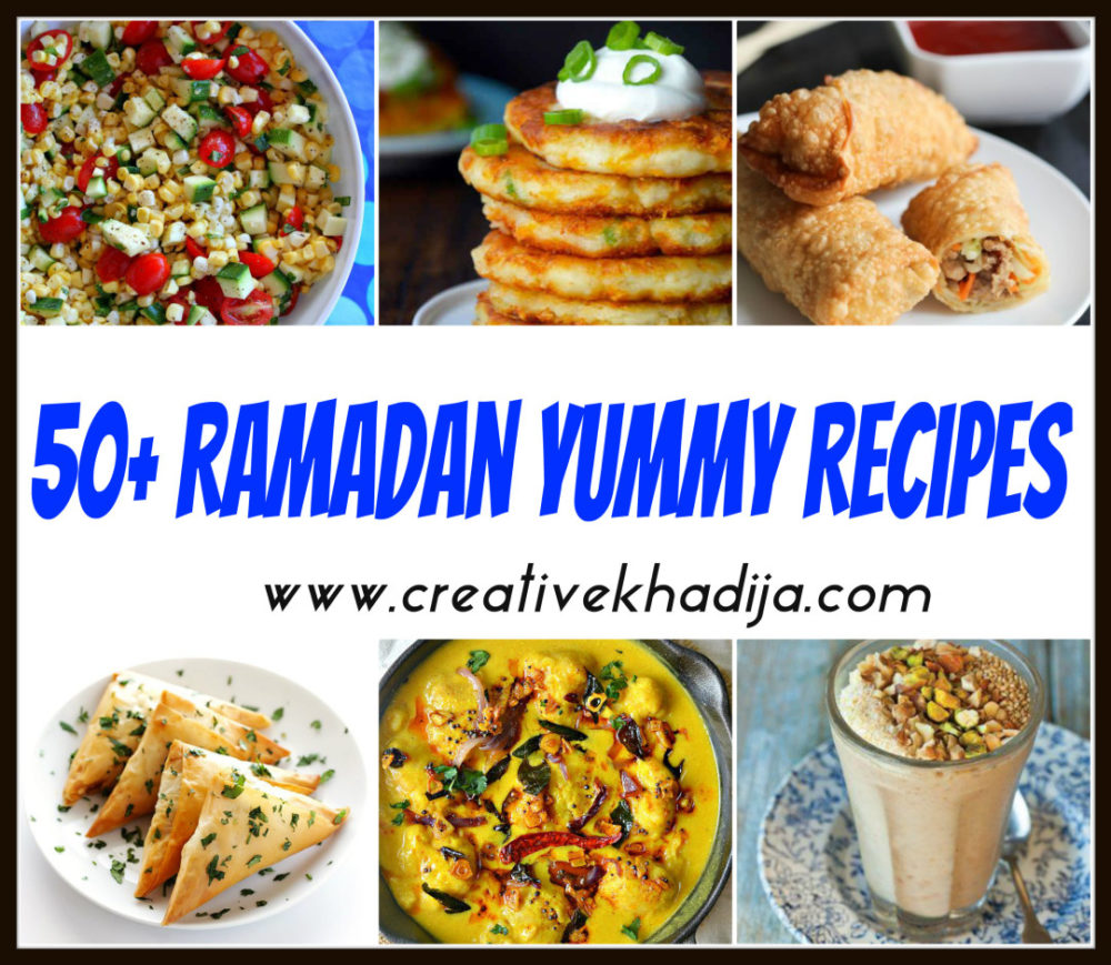 Easy & quick Recipes for Ramadan & Iftar