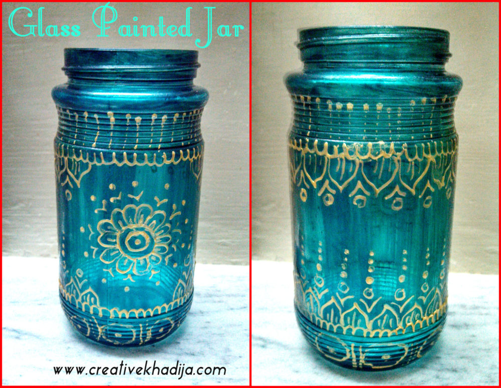 food jar decorating & designing ideas by creative khadija