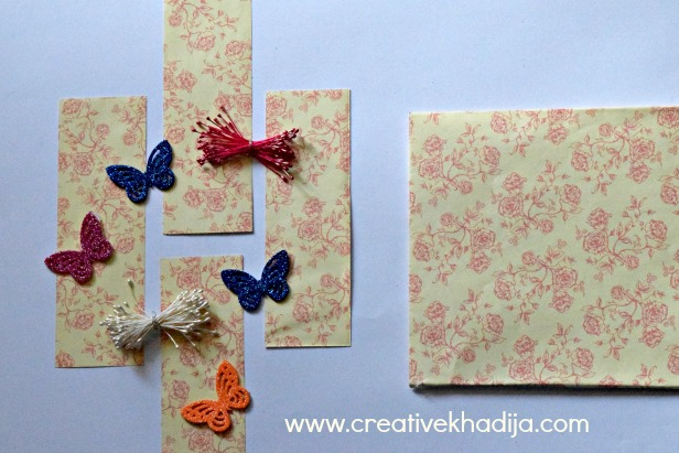 how to make paper bookmarks in less than 5 minutes easy & quick tutorial
