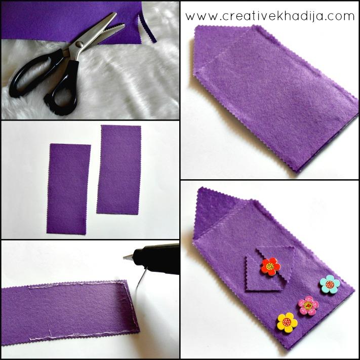 ne sew felt fabric pencil case back to school idea