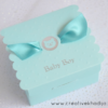 Cute Baby Favor Boxes For sale-boys announcement boxes for sweets and chocolates