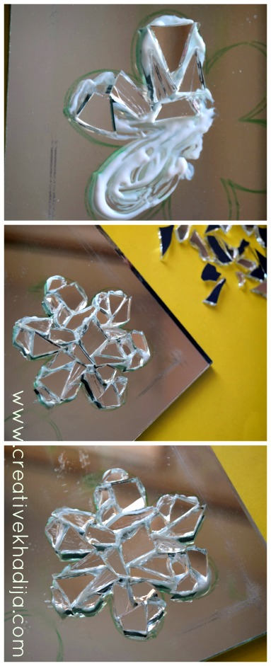 How To Make & Design Glass paint Mosaic Wall Art