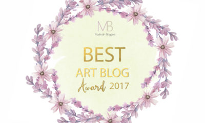 Best Art and Craft Blog 2017-Muslimah Bloggers Awards