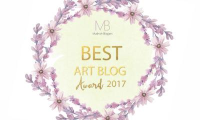 Best Art and Craft Blog 2017-Muslimah Bloggers Awards