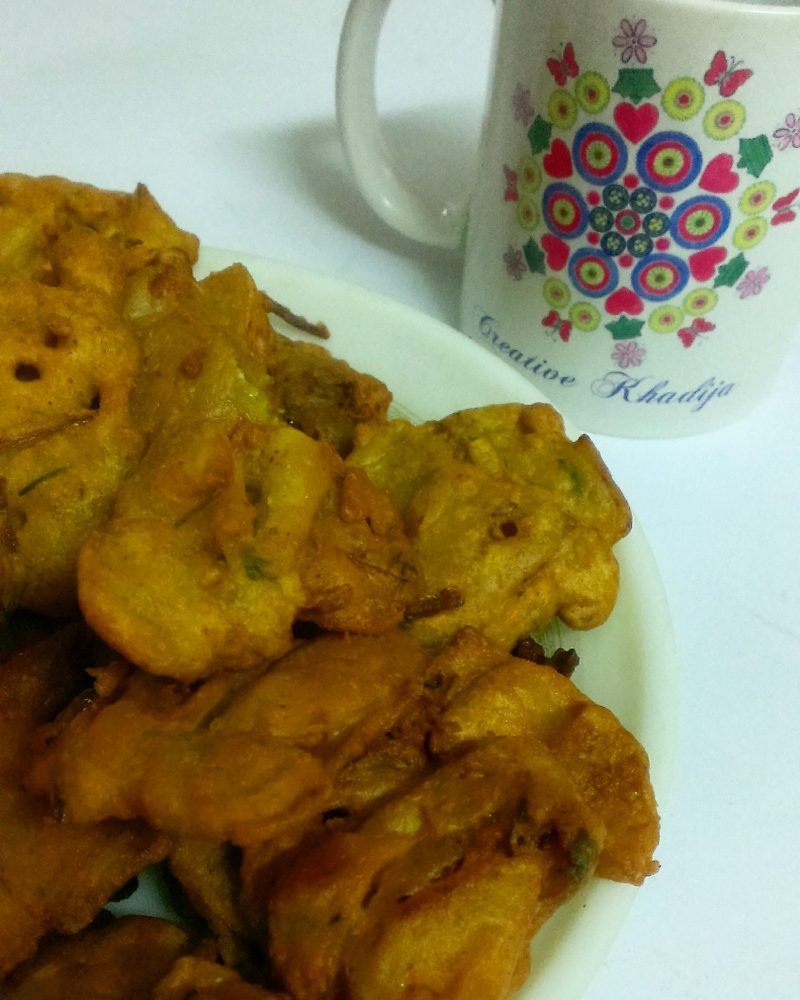Creative Khadija Tea and Fritters on Facebook