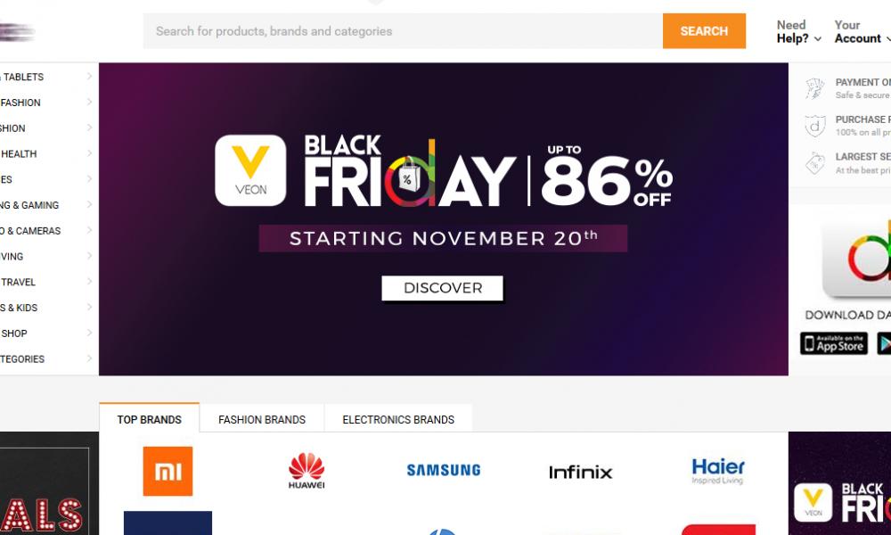 Websites Offering Black Friday Deals in Pakistan