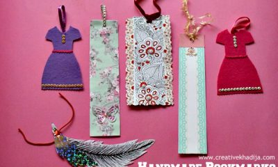 easy bookmarks making ideas and tutorials