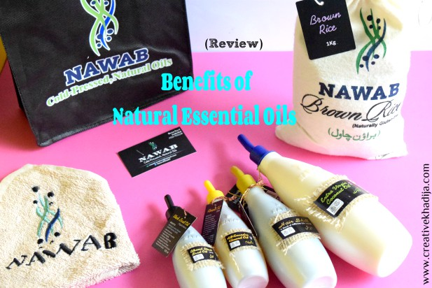 Natural & organic products by Nawab-Review by Creative Khadija Blog
