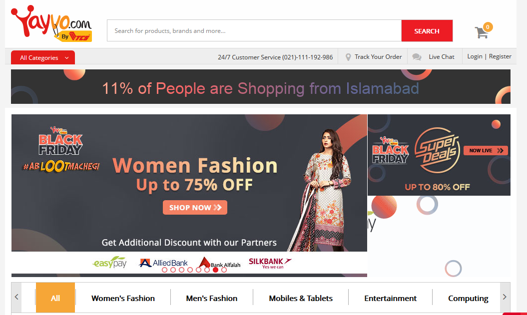 websites-offering-black-friday-sales-offers-discounts-in-pakistan-daraz-pakstyle-yayvo