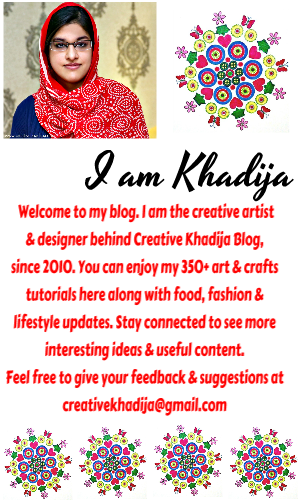 Creative Khadija Kiran Pakistani Blogger