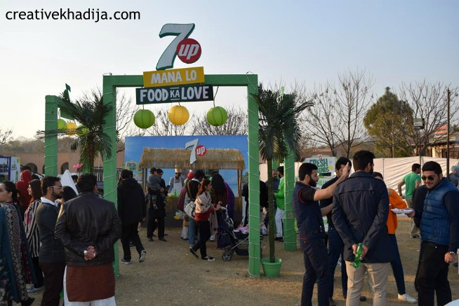 FOODPANDA in Islamabad with Bites and Vibes Food Festival - 21 January 2018