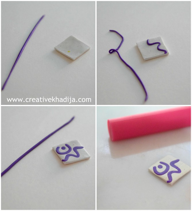 how to make handmade clay pendant