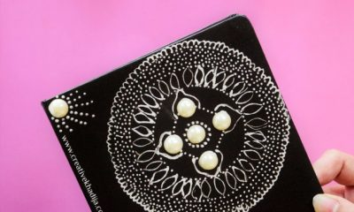How To Design A Diary Cover Inspired By Henna Tattoo