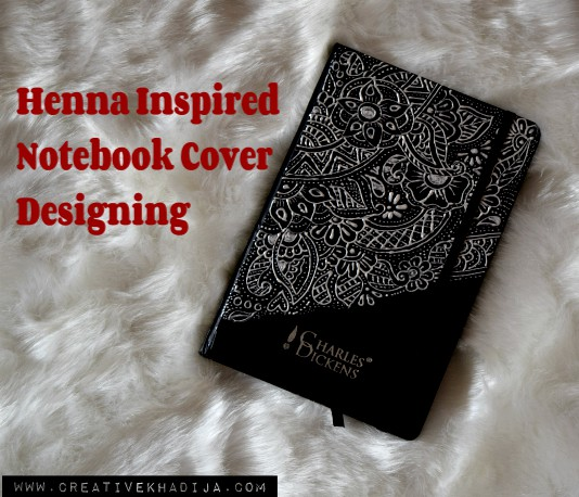 Beautiful Eid gift idea for girls with henna-mehndi inspired design