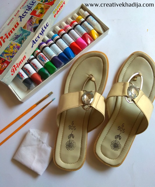 truck art painting inspired shoes design tutorial-how to refashion an old shoe with painting truck art