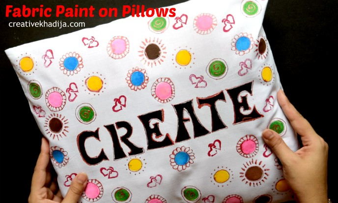 how to fabric paint on pillow covers for craft room inspiration ideas