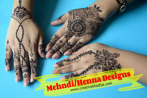 best mehndi designs for Eid-video tutorial on henna designing