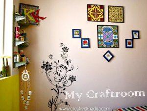 creative khadija craftroom wallart