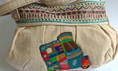 Unique Idea to transform and refurbish a plain handbag