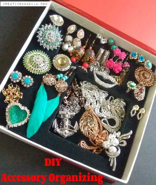 fashion accessories organizing tips for girls