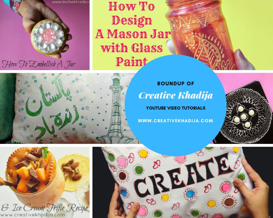 Creative Khadija YouTube Tutorials Roundup