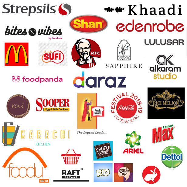 Year 2018 brand collaborations and sponsors of Creative Khadija Blog