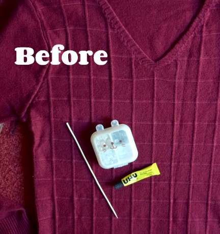 How to design easy & quick DIY sweater DIY upcycling old sweaters Girls sweater design sweater refashion tutorial