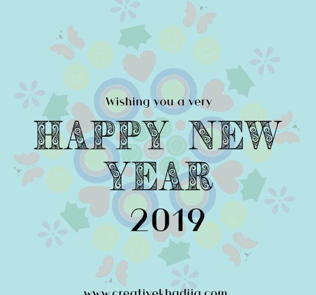 Happy New Year 2019 and I Won Best Art blog of 2018 Award