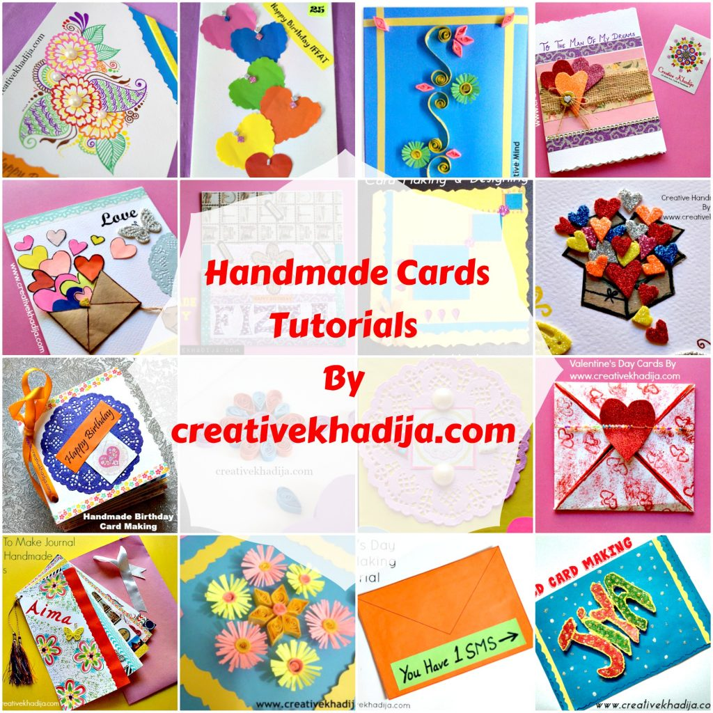 Easy and handmade cards making ideas for girls