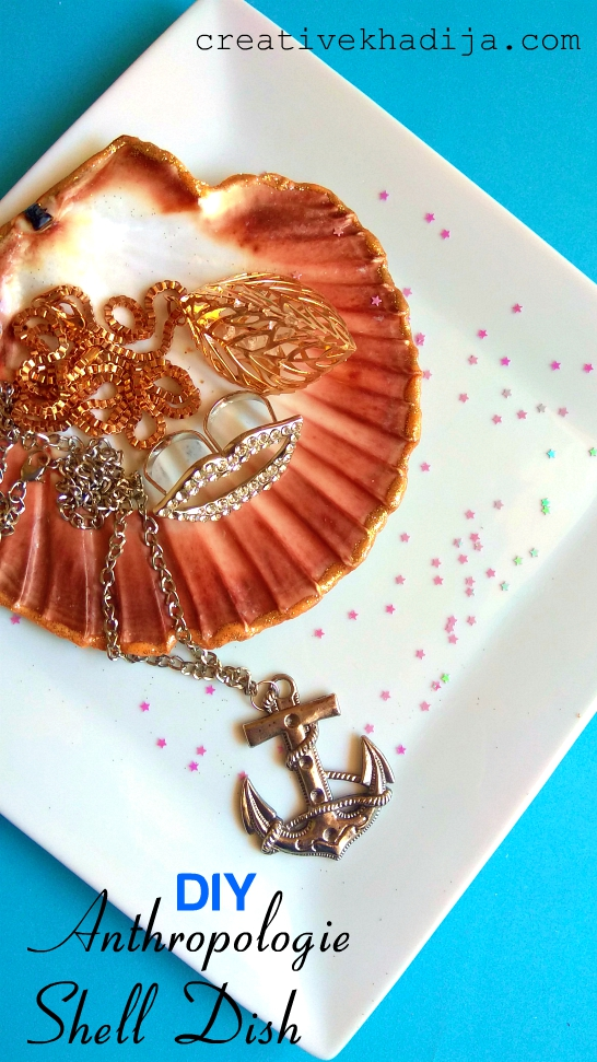 DIY Shell Ring Jewelry Dish Inspired By Anthropologie | Top 9 Apps For Bloggers
