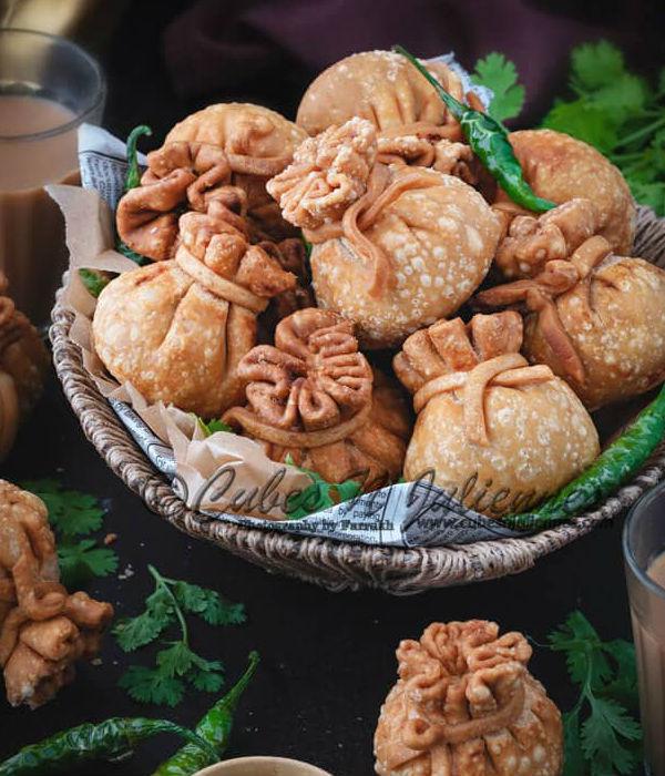 best ramadan food recipe to try this year potli vegetable samosas