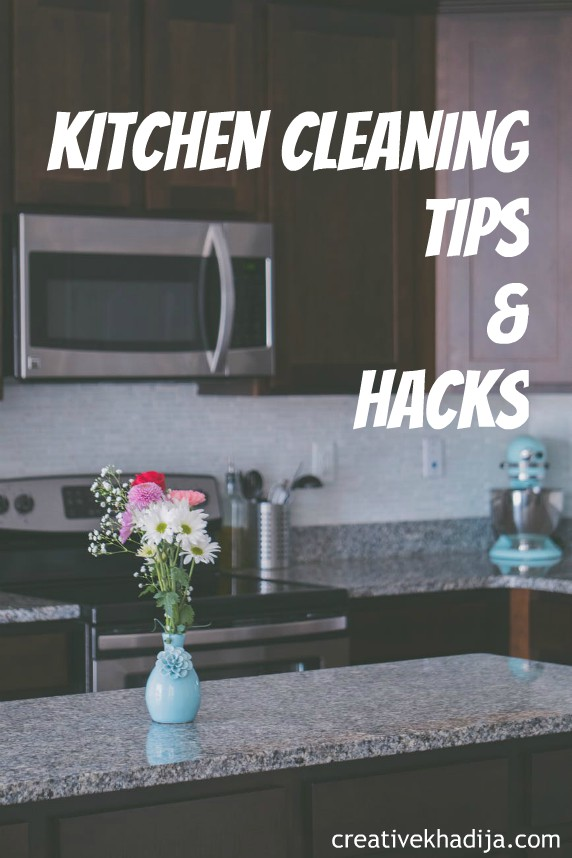 kitchen cleaning tips and hacks to try before starting Ramadan 2019