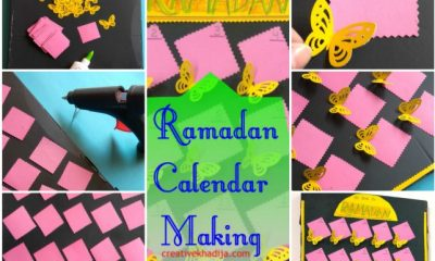 Ramadan 2019 Art Projects For Kids-Advent Calendar and How To Make It