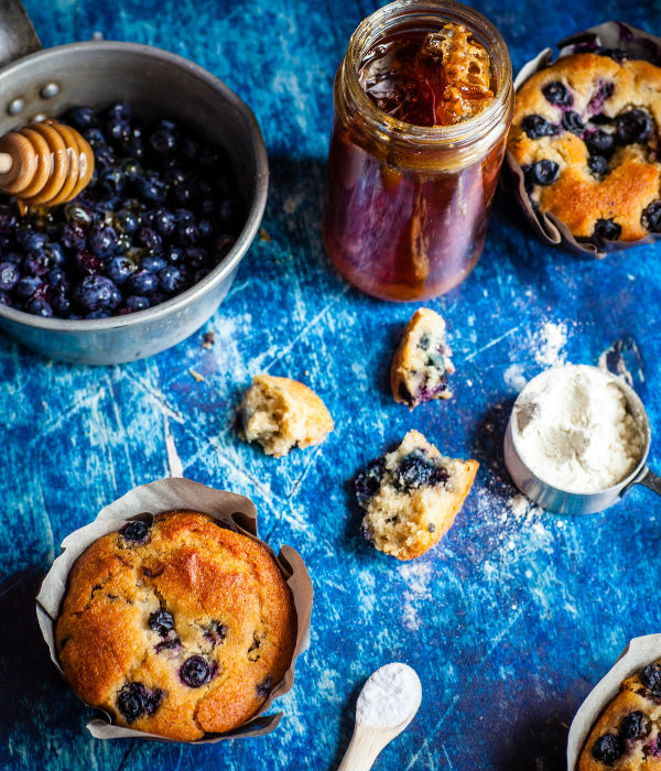 best mother's day breakfast ideas blueberry muffins