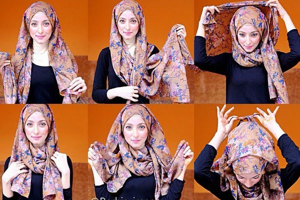 how to tie a hijab in easy and stylish way hijab style